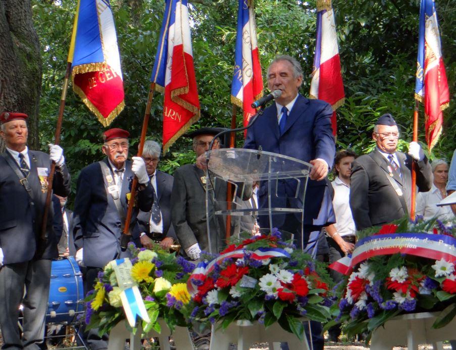 En 2019 cérémonie du 75eme anniversaire de la Libération de Pau Bibi_210