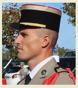 Le Colonel Christophe Tritscher prendra le 22 juillet 2020 la tête du 2e REP de Calvi Colone10