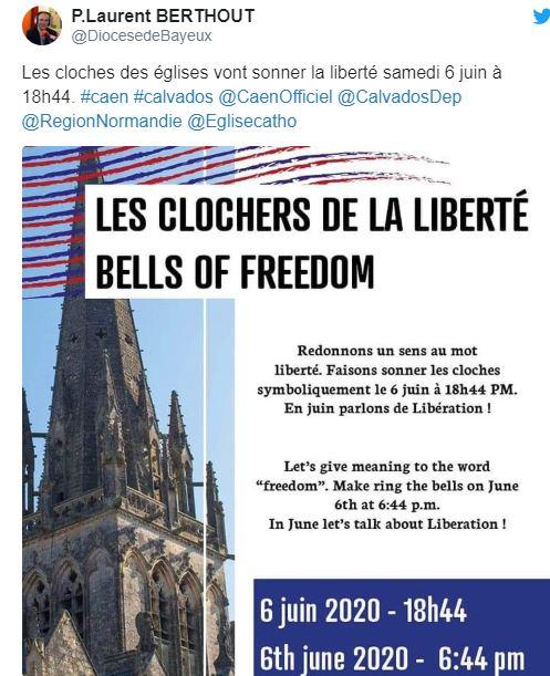 pourquoi les cloches vont sonner à 18h44 précises le 6 juin ? D-day11