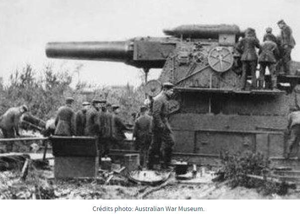23 mars 1918, la grosse Bertha Grosse10