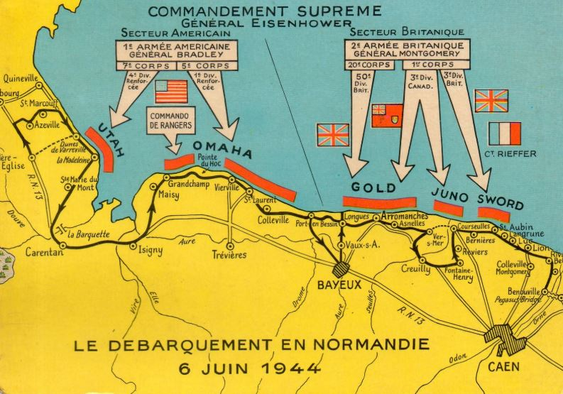 Le D-DAY Normandie Landin10