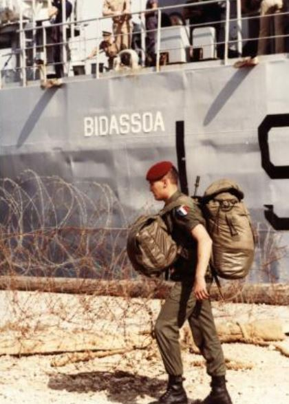 Bâtiment de débarquement de chars Bidassoa Liban_11