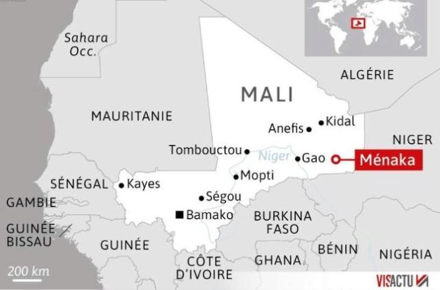 13 Militaires français tués au Mali le 25 novembre 2019 Mali10