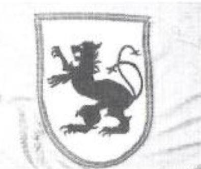 le lion qui se trouve sur le toit du manoir Ri12