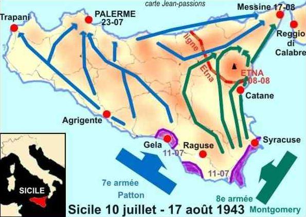 10 juillet 1943, opération Husky Sicile10
