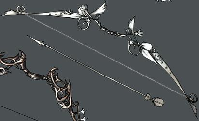 Aredhel Nadeshiko, princesse des elfes et élève archer  Fleche10