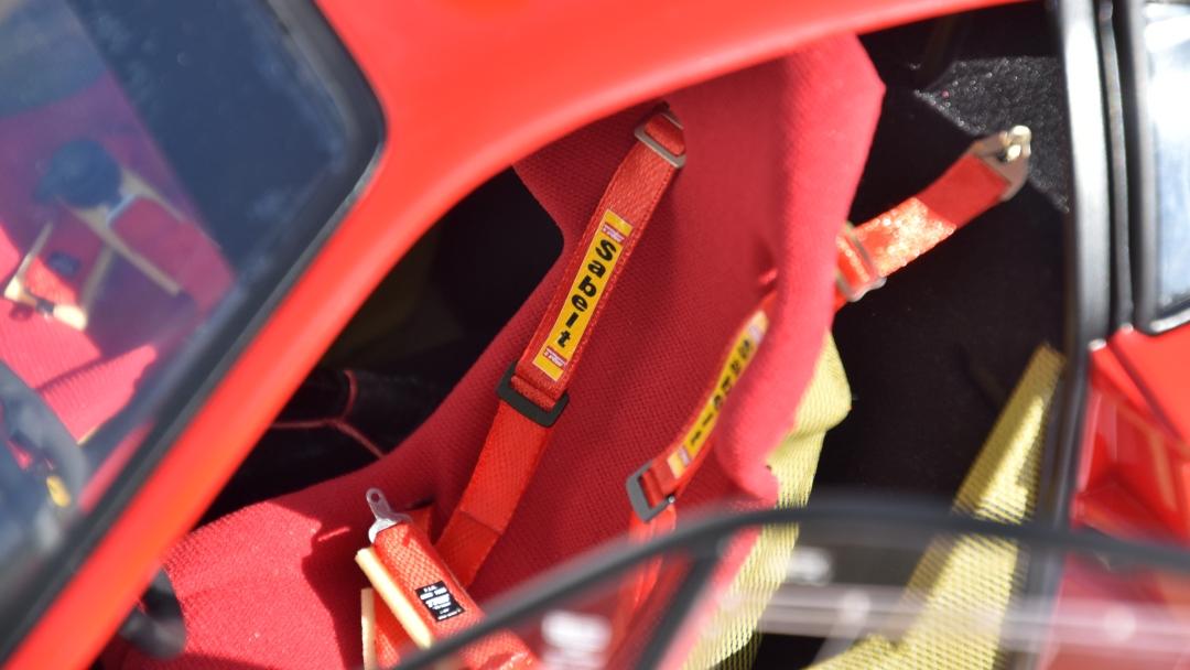 Ferrari F40 von Pocher 1:8 mit autograph Transkit gebaut von Paperstev 010_f411