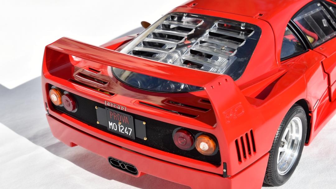 Ferrari F40 von Pocher 1:8 mit autograph Transkit gebaut von Paperstev 013_f411
