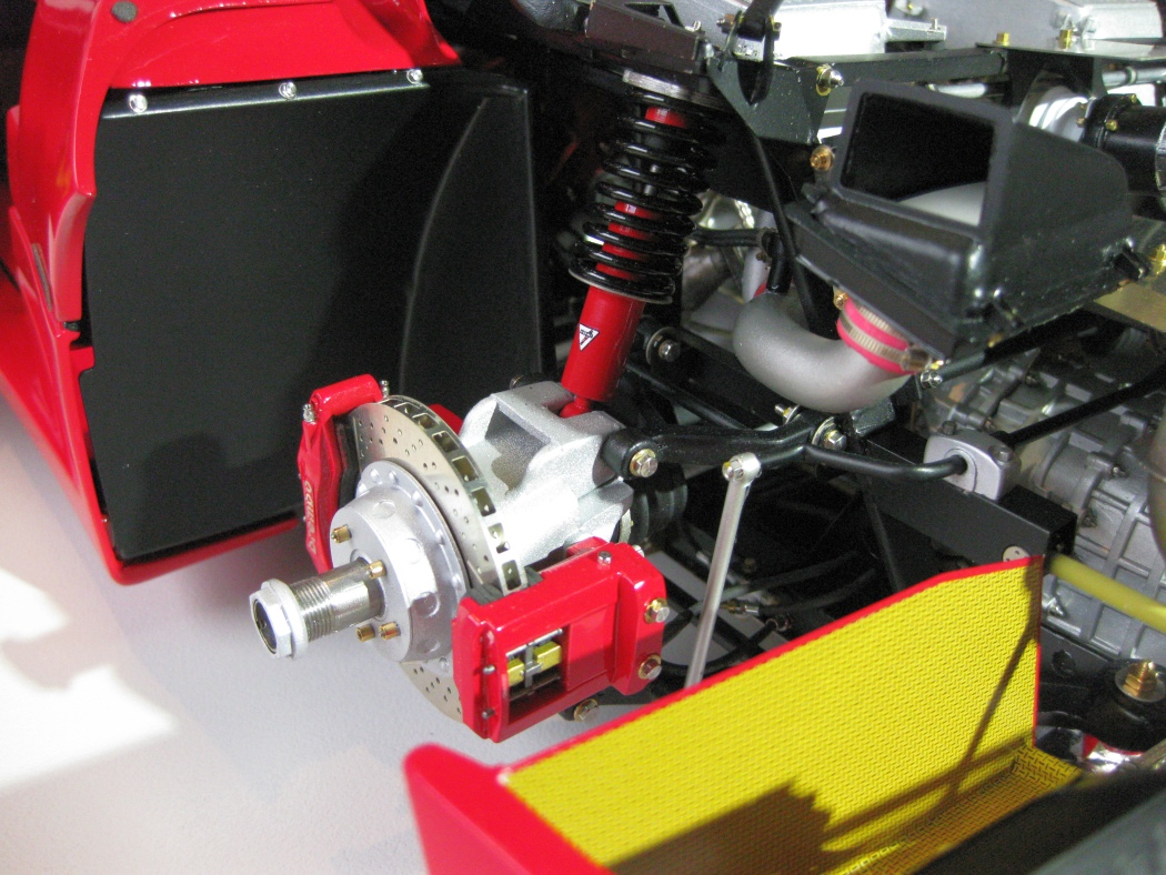 Ferrari F40 von Pocher 1:8 mit autograph Transkit gebaut von Paperstev - Seite 7 022_f410