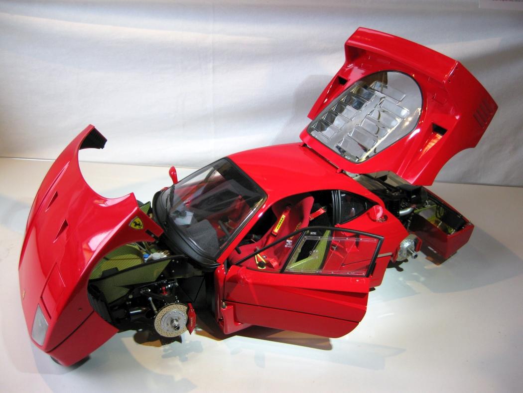 Ferrari F40 von Pocher 1:8 mit autograph Transkit gebaut von Paperstev - Seite 7 025_f410
