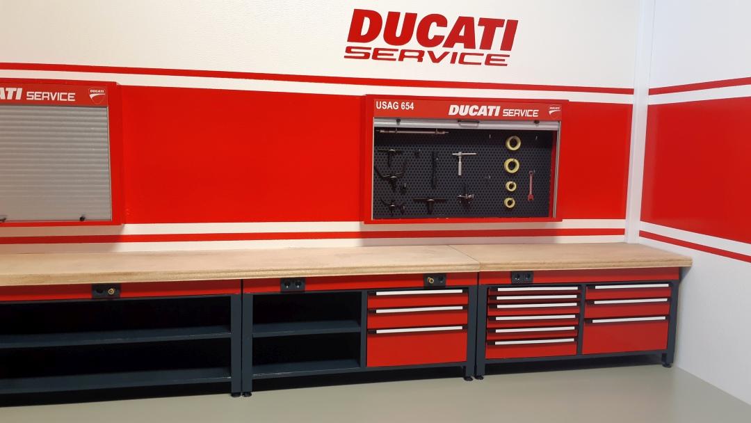 Werkstatt für die Ducati 1199 Panigale S von Tamiya 1:12 gebaut von Papaerstev - Seite 2 144_we10