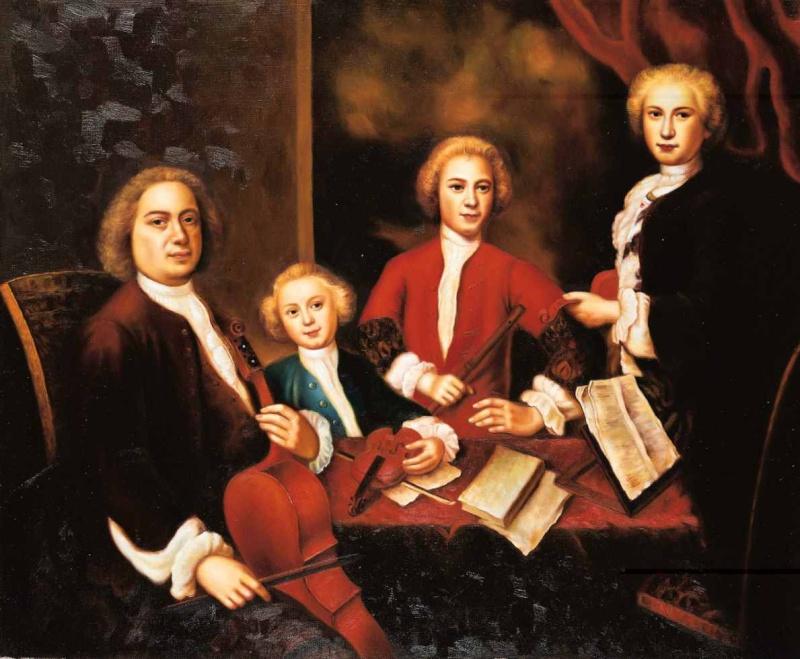 تنويعات جولدبيرج للكلافسانGoldberg Variations  من اهم اعمال باخ Bachfa10