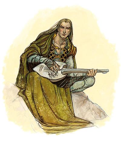 القصيد السيمفونى The Bard مصنف رقم 64 للهارب و الاوركسترا من اعمال سبيليوس  Bard10