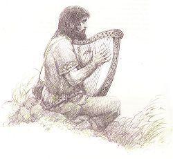 القصيد السيمفونى The Bard مصنف رقم 64 للهارب و الاوركسترا من اعمال سبيليوس  Trista10