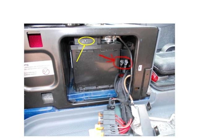 Charge de la batterie auxilaire Gasty10