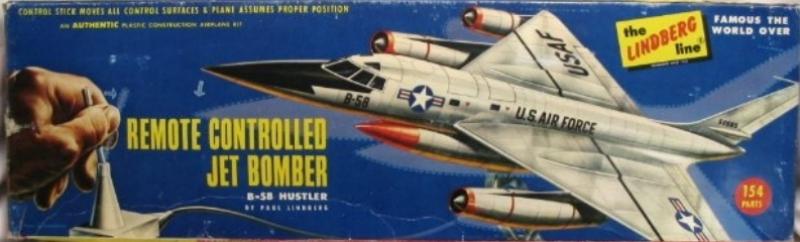 Geschichte eines Flugmodells - B 58 Hustler von Lindberg 1:64 B_5810