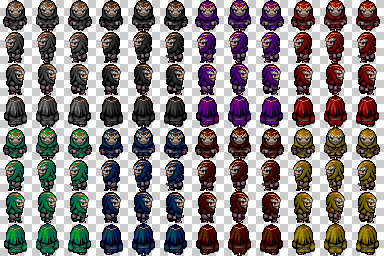 soldats et ninjas de couleur Ninjas13