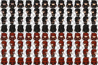 soldats et ninjas de couleur Soldat18