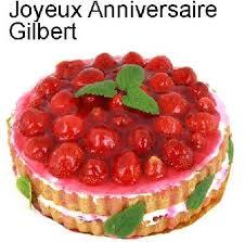 """bon anniversaire gigi """"gilbert """"  Annive10"""