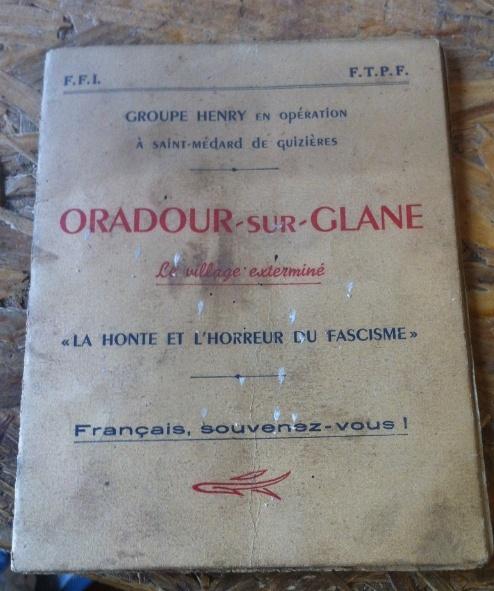 Ma collection Résistance, libération, DP Oradou10