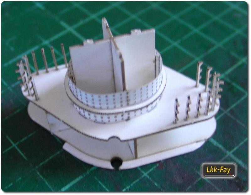 """Des Kaisers Flaggschiff """"Von der Tann"""", M 1:250 Sany0356"""