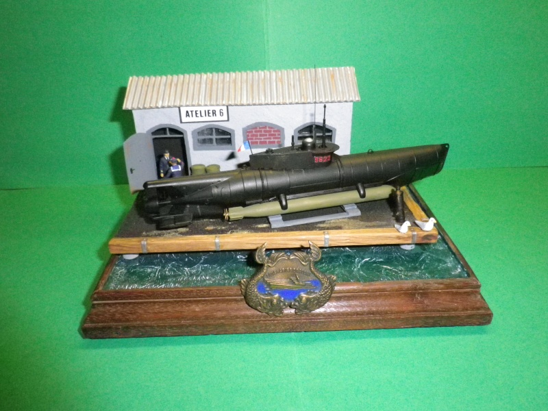 Seehund à la française (1952-1956) Sous marin de poche  Imgp3210