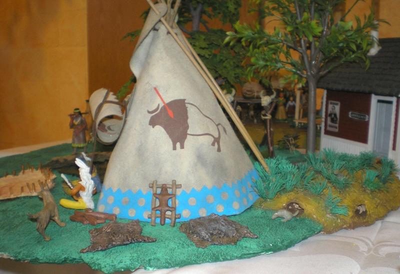 Bemalungen, Umbauten, Modellierungen – neue Indianer für meine Dioramen - Seite 2 009_2012