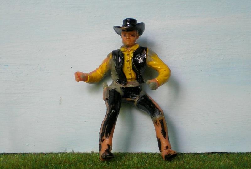 Bemalungen, Umbauten, Modellierungen - neue Cowboys für meine Dioramen 170e2e10