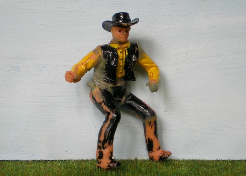 Bemalungen, Umbauten, Modellierungen - neue Cowboys für meine Dioramen 170e2f10