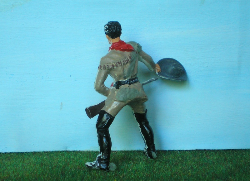 Bemalungen, Umbauten, Modellierungen - neue Cowboys für meine Dioramen 175e2c10