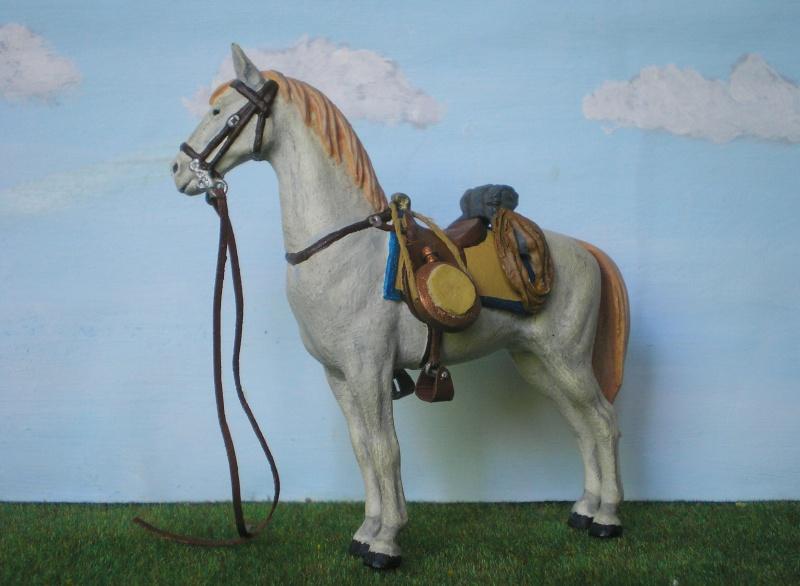 Bemalungen, Umbauten, Modellierungen - neue Cowboys für meine Dioramen 175e4c10
