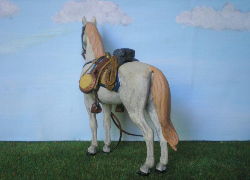Bemalungen, Umbauten, Modellierungen - neue Cowboys für meine Dioramen 175e4c11