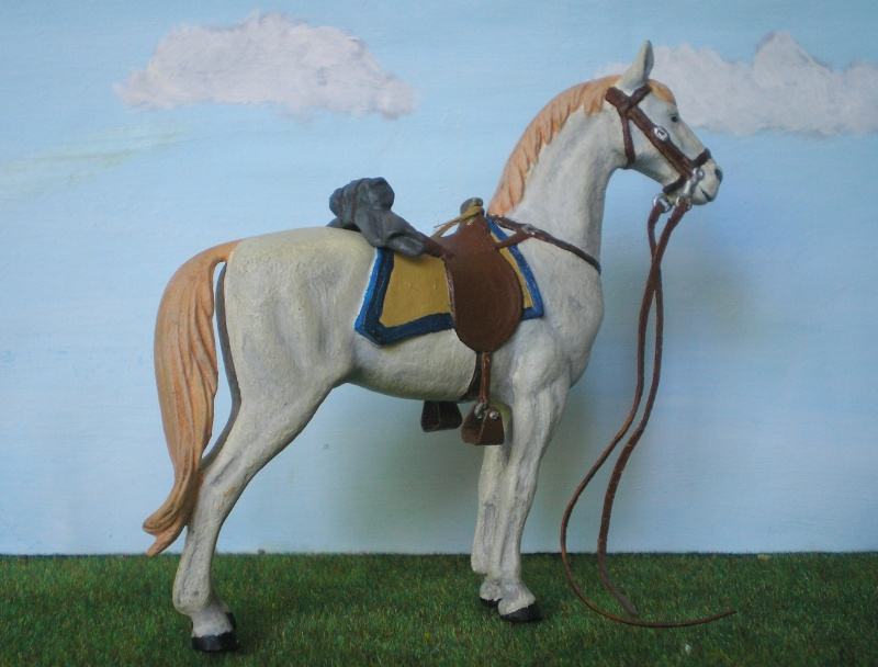 Bemalungen, Umbauten, Modellierungen - neue Cowboys für meine Dioramen 175e4c12