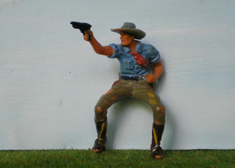 Bemalungen, Umbauten, Modellierungen - neue Cowboys für meine Dioramen 180a4a10