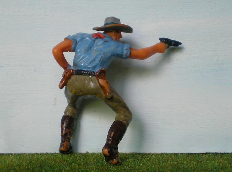 Bemalungen, Umbauten, Modellierungen - neue Cowboys für meine Dioramen 180a4b10