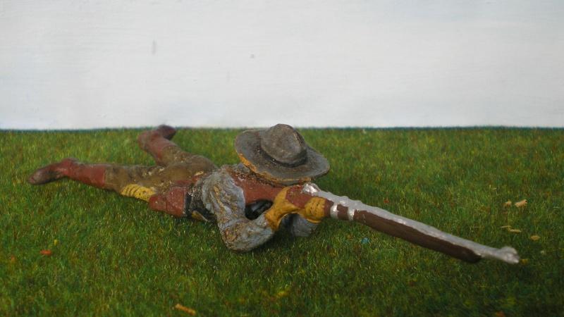 Bemalungen, Umbauten, Modellierungen - neue Cowboys für meine Dioramen 180k2d11