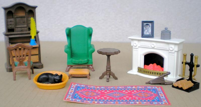 Möbel, Geschirr und ähnliche Kleinteile zur Figurengröße 7 cm Pm_53110