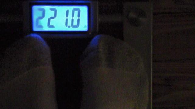 Body Weight progress 99kgs.(218lbs.) 00710