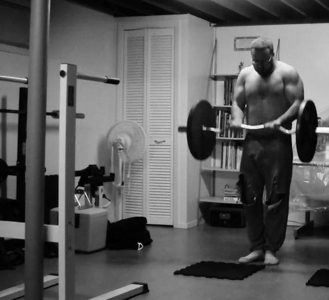 Body Weight progress 99kgs.(218lbs.) 04910