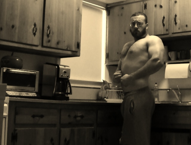 Body Weight progress 99kgs.(218lbs.) 06210