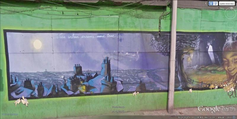 STREET VIEW : les fresques murales - MONDE (hors France) - Page 15 Fresqu15