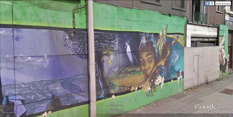STREET VIEW : les fresques murales - MONDE (hors France) - Page 15 Fresqu16