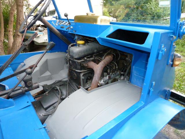 Restauration unimog 411 de 1958  de FRIGO 04 P1010223