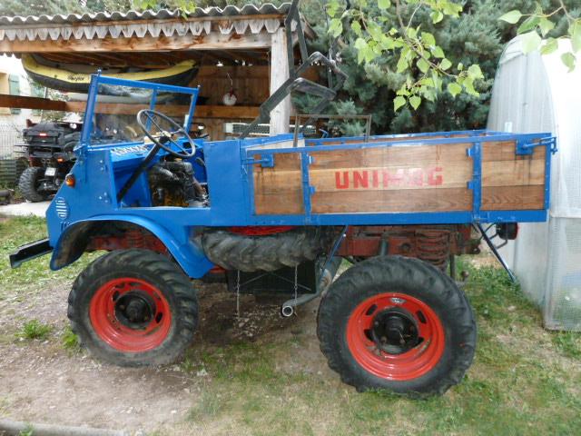 Restauration unimog 411 de 1958  de FRIGO 04 P1010225