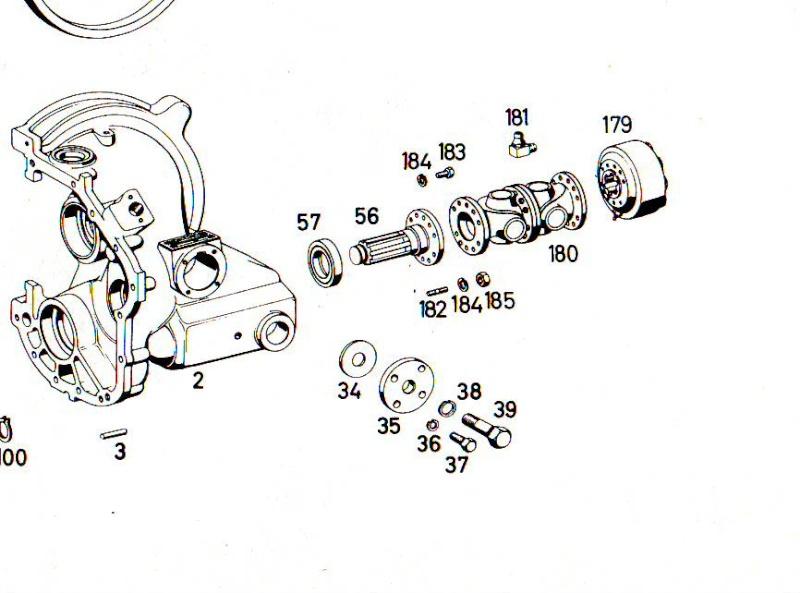 Unimog 421, le retour !!! - Page 6 Cardan10