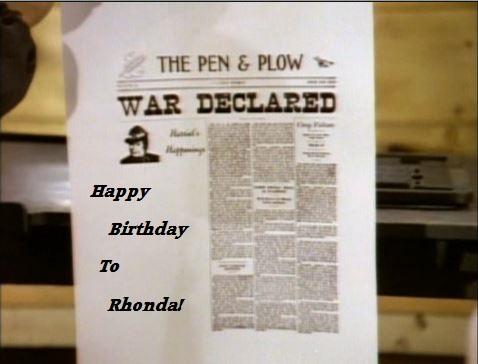 Happy Birthday Rhonda!! Rhonda11