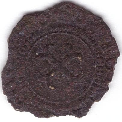 méreau du réfectoire de la cathédrale de Tournai (Belgique) A14