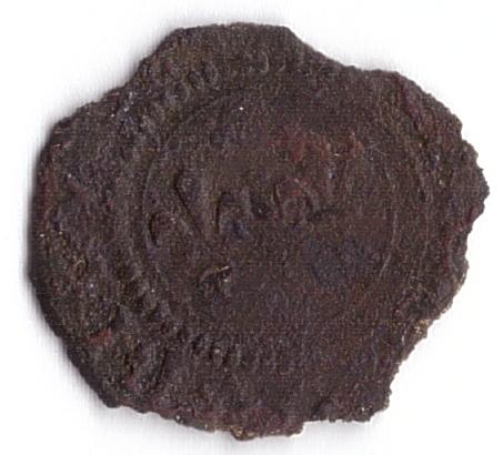 méreau du réfectoire de la cathédrale de Tournai (Belgique) R14