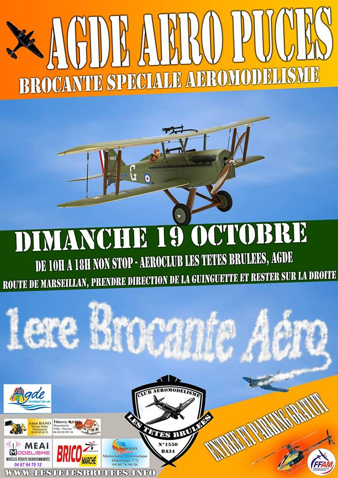 AGDE Aero, Voiture, Helico, PUCE.  Brocan10