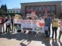 Sit-in en faveur des animaux au Maroc 10402511